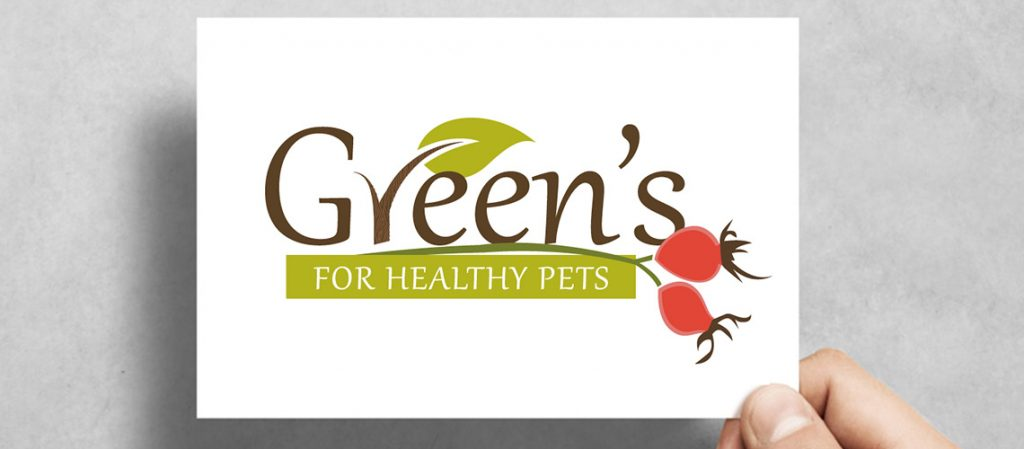 Greens-Pets-Logo-Design