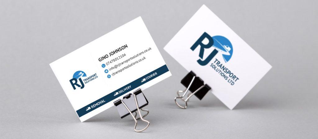 RJ-Transport-Business-Card-Design