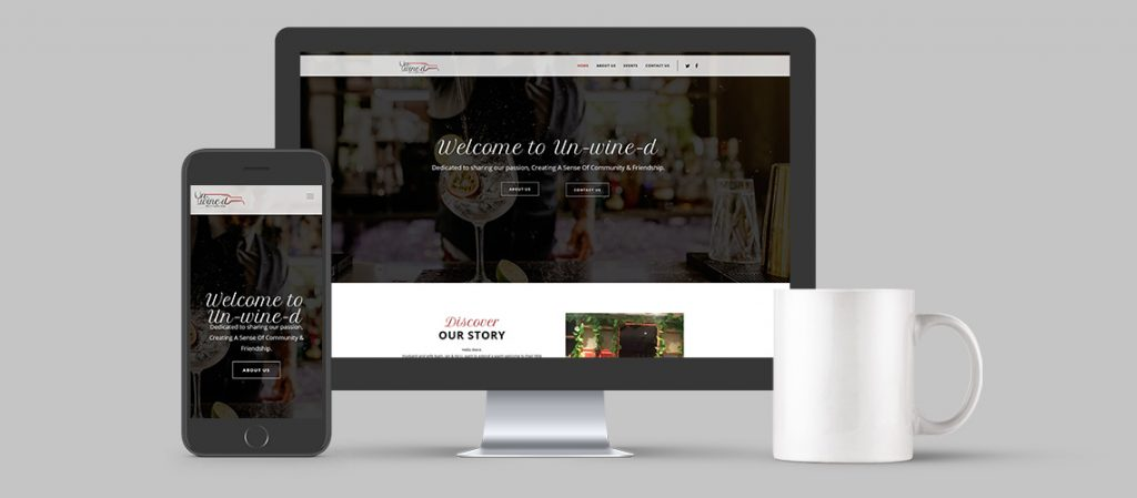 Unwined-Website-Design